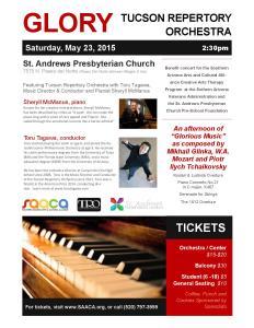 TRO Benefit Concert May23