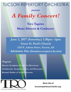 TRO Family Concert 6.3.17