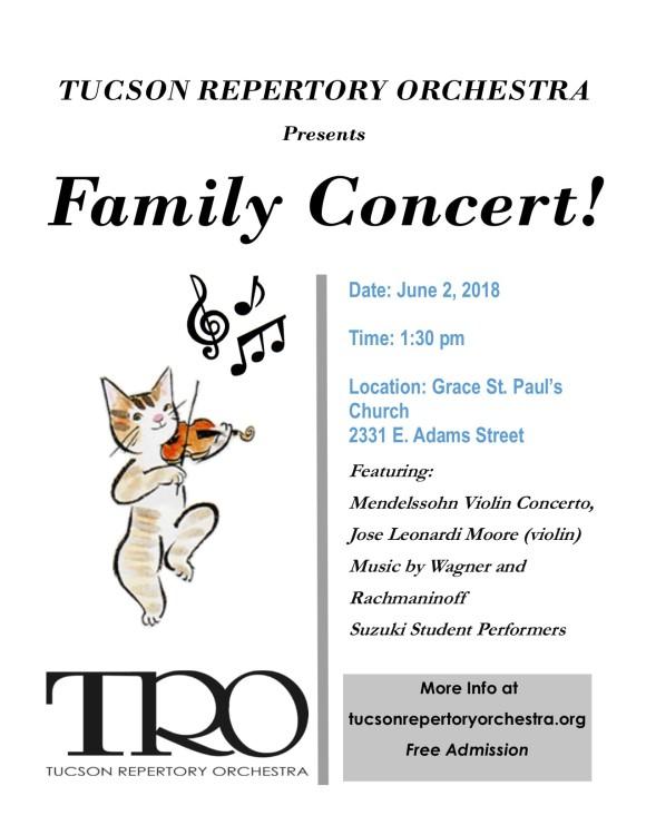 TRO Family Concert 6.2.18