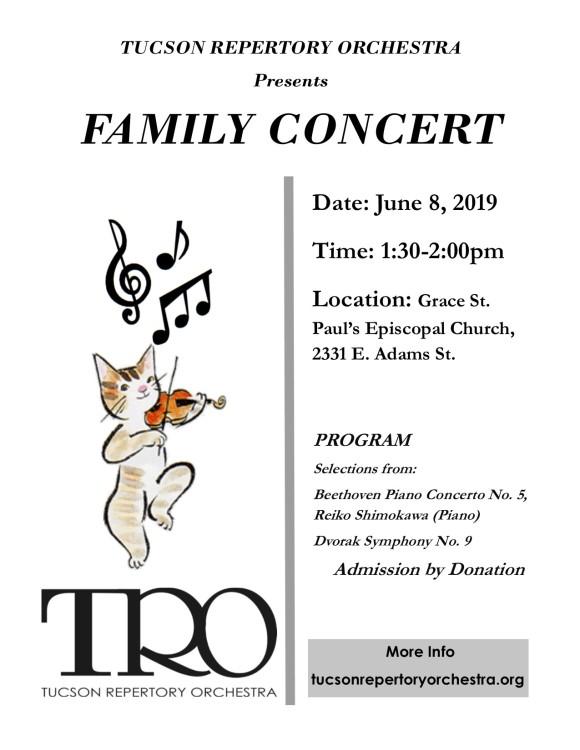 TRO Family Concert 6.8.19