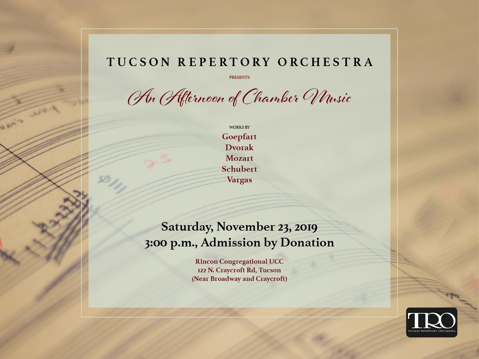Nov.23 Chamber Music