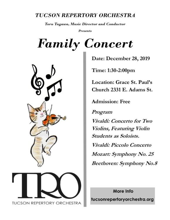 TRO Family Concert 12.28.19